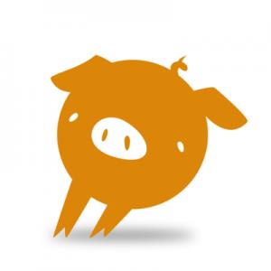 logo for italic pig