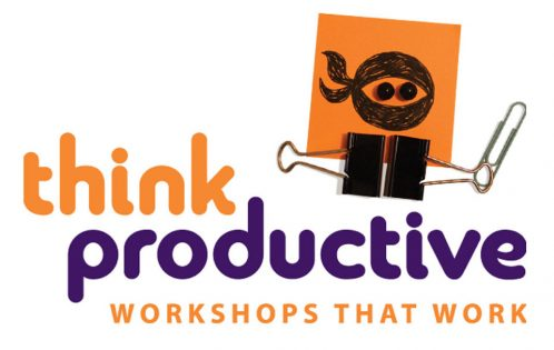 think productive header with productivity ninja
