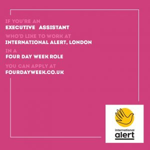 four day week social media package pink square