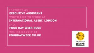 four day week social media package pink rectangle
