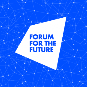 logo for forum for the future