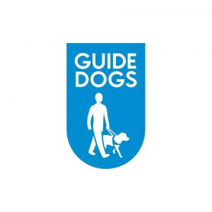 Logo for guide dogs association