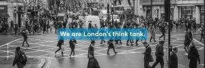 people walking in central london